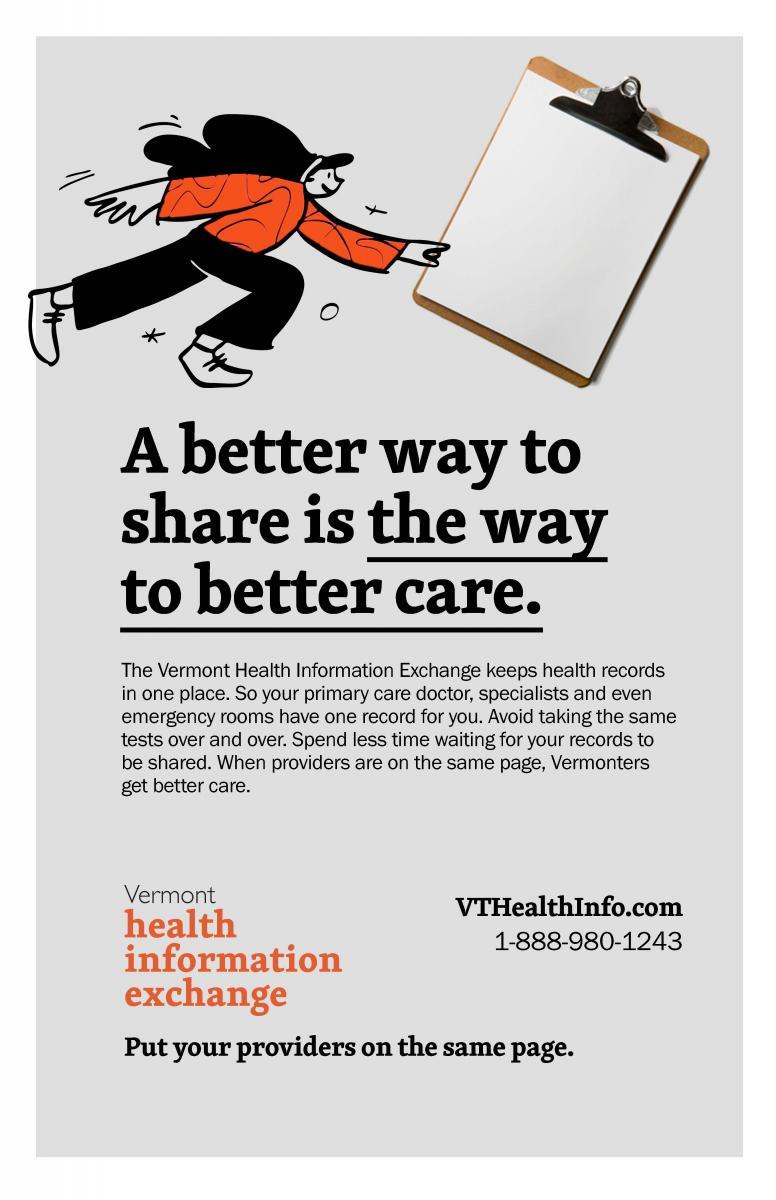 Vermont Health Information Exchange Poster
